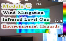 FL CE: Module C (Infrared Level 1 + Wind Mitigation + Env Hazard) Online Training & Certification
